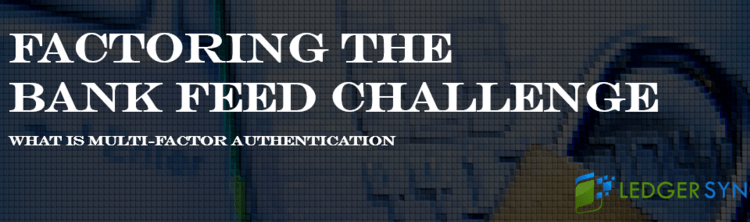 Banner image for the article Factoring the Bank Feed Challenge